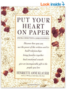 Put Your Heart on Paper book on Amazon