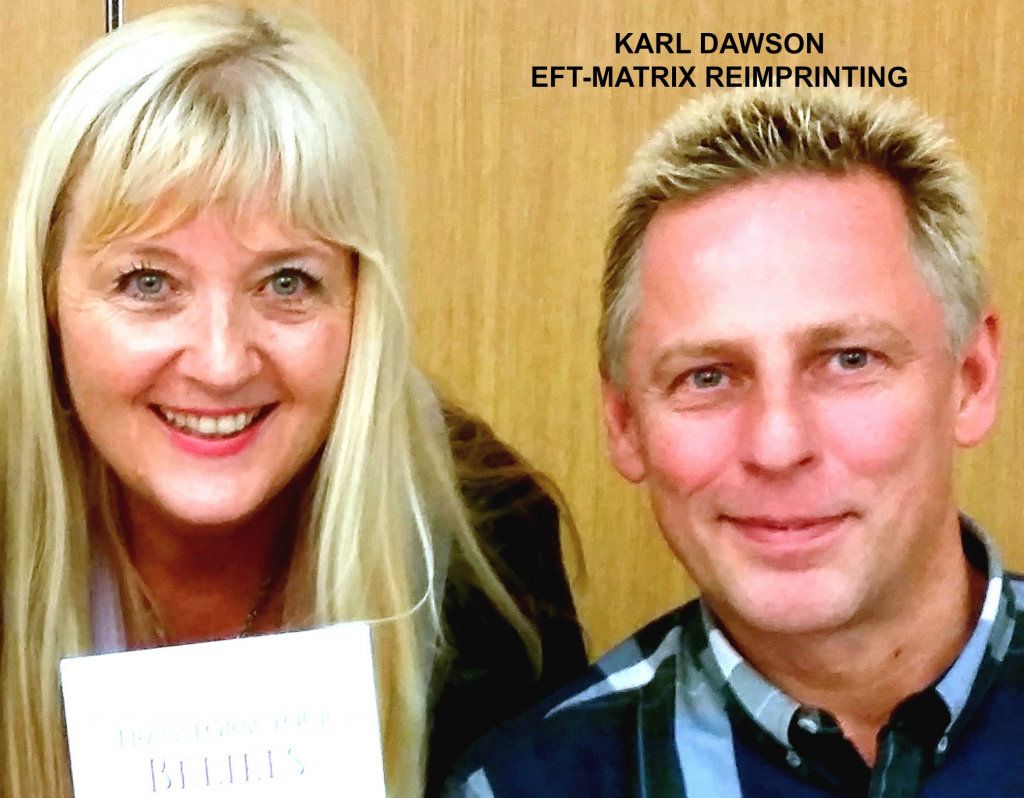Karl Dawson with Caryl Westmore