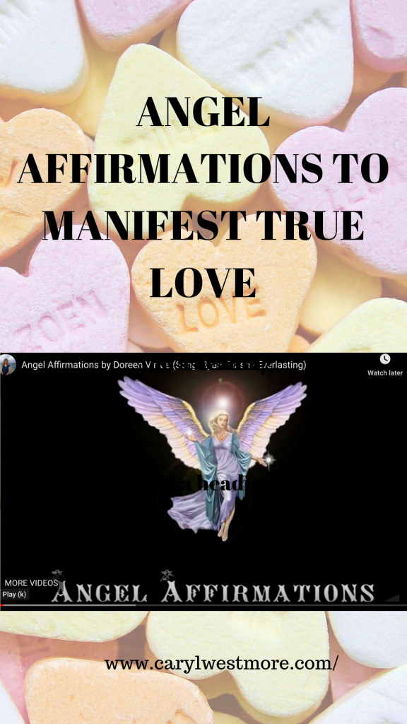 Angel affirmation video