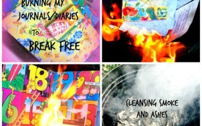 Burning my Journals/Diaries to Break Free Emotionally from the past