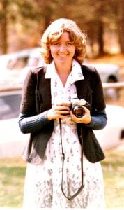 Caryl Blanckenberg (now Westmore) as a photojournalist in SA