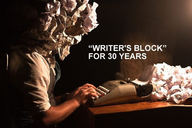 4 Proven Tips to avoid Writer's Block that plagued THIS writer for 30 years – till the day he died (87)